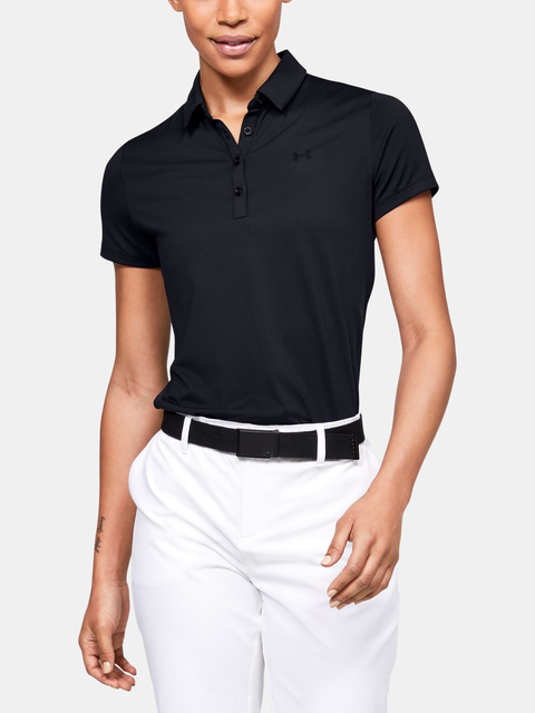 Tričko Under Armour Zinger Short Sleeve Polo-BLK