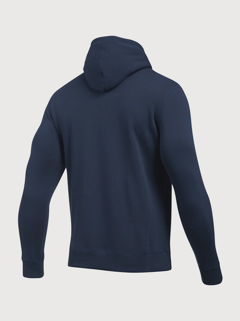 Mikina Under Armour Rival Fitted Pull Over-NVY
