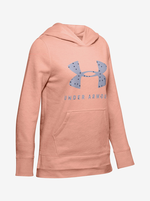 Mikina Under Armour Rival Print Fill Logo Hoodie