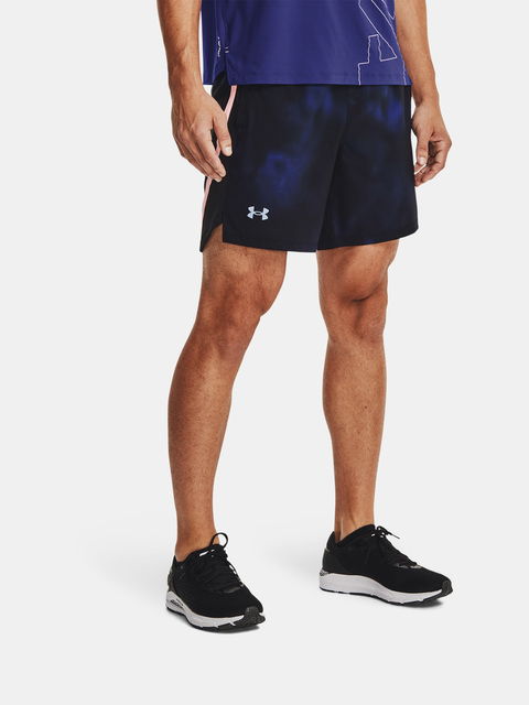 Kraťasy Under Armour UA Launch SW 7'' PRT Short-BLU