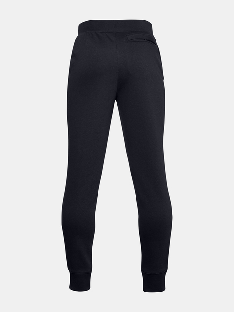 Tepláky Under Armour UA RIVAL COTTON PANTS-BLK