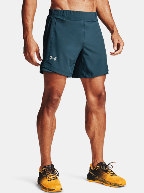 Kraťasy Under Armour QLIFIER SPEEDPOCKET 7'' SHORT-BLU