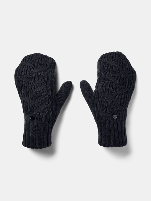 Rukavice Under Armour UA Around Town Mitten-BLK