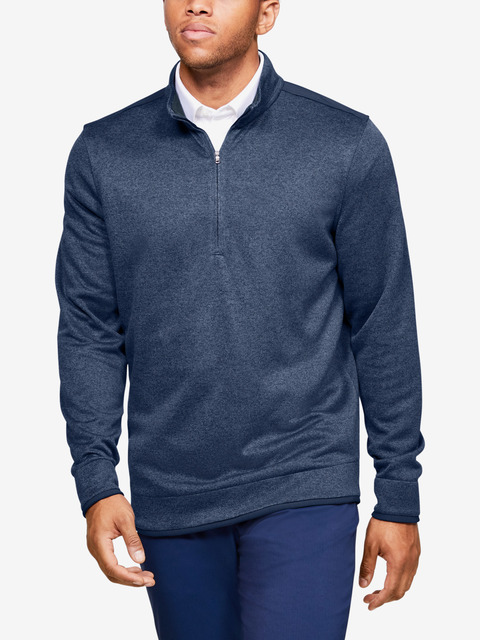 Mikina Under Armour SweaterFleece 1/2 Zip-BLU