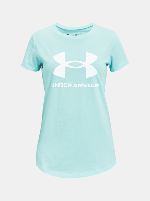 Tričko Under Armour Live Sportstyle Graphic SS-BLU