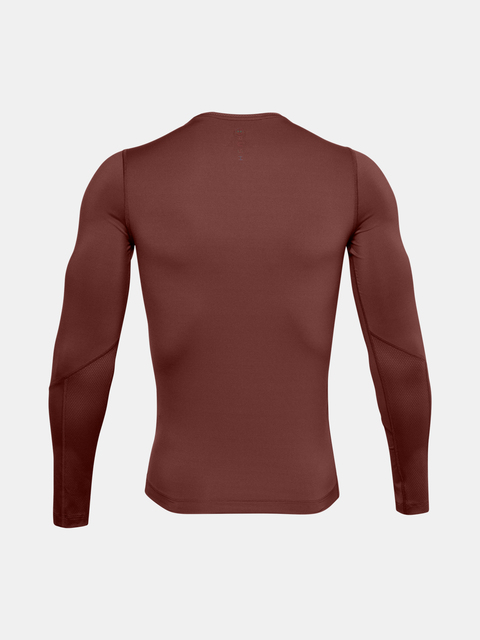 Tričko Under Armour UA Rush HG Compression LS-RED
