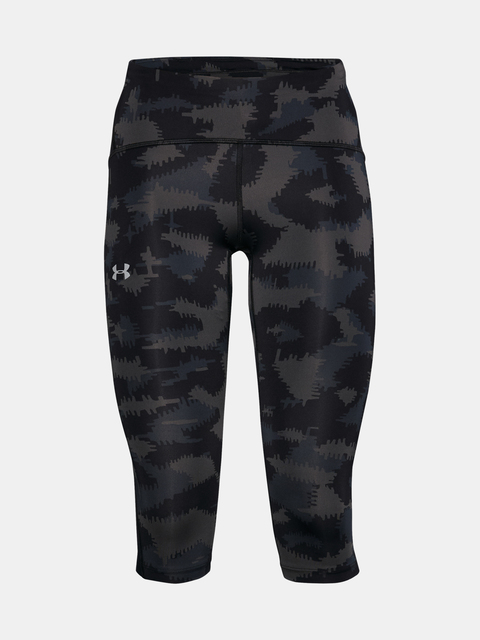 Legíny Under Armour W UA Fly Fast Printed Speed Capri-BLK