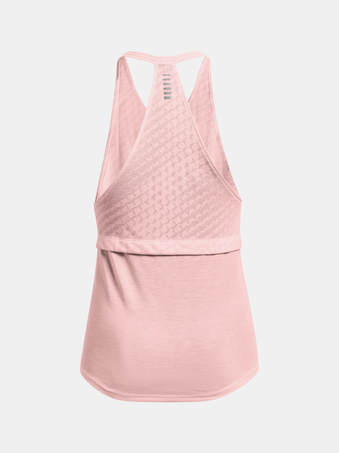 Tielko Under Armour Streaker Runclipse Tank-PNK