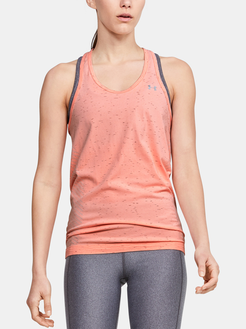 Tielko Under Armour UA Seamless Melange Tank-ORG