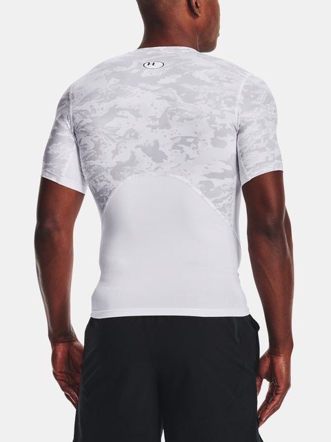 Tričko Under Armour HG Armour Camo Comp SS-WHT