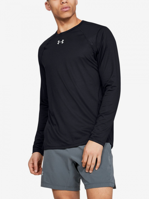 Tričko Under Armour Qualifier Longsleeve-Blk