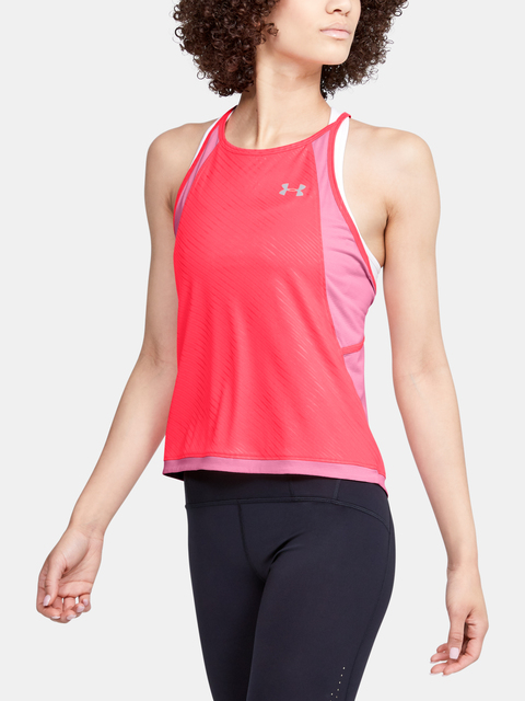 Tielko Under Armour W Qlifier Iso-Chill Embossed Tank