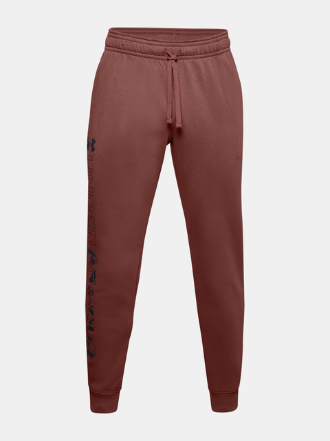 Tepláky Under Armour UA Rival Flc Graphic Joggers-RED