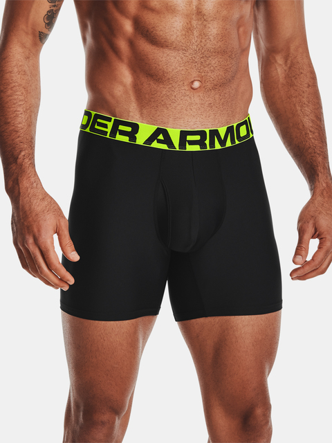 Boxerky Under Armour Tech 6in 2 Pack-BLK