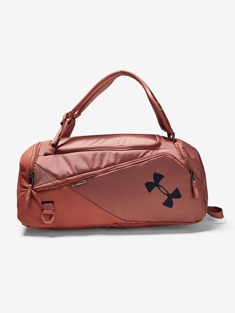 Taška Under Armour Contain Duo SM Duffle BP-BRN