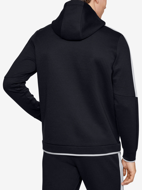 Mikina Under Armour Athlete Recovery Fleece Full Zip-Blk