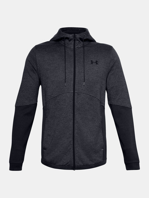 Mikina Under Armour DOUBLE KNIT FZ HOODIE-GRY