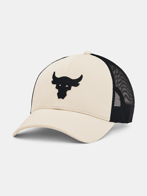 Šiltovka Under Armour  Project Rock Trucker-WHT