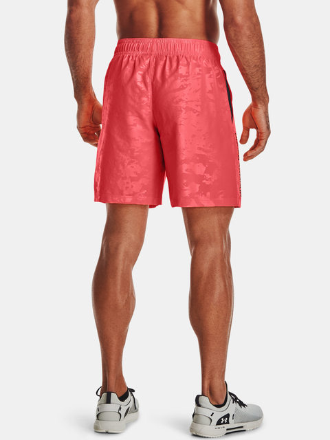 Kraťasy Under Armour UA Woven Emboss Shorts-RED