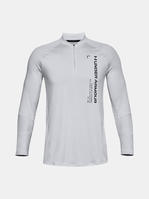 Tričko Under Armour UA MK-1 Graphic 1/4 Zip-GRY