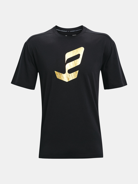 Tričko Under Armour UA EMBIID GOLD MINE TEE-BLK