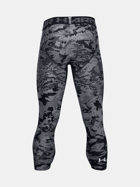 Legíny Under Armour UA HG 3/4 Print Leggings-BLK