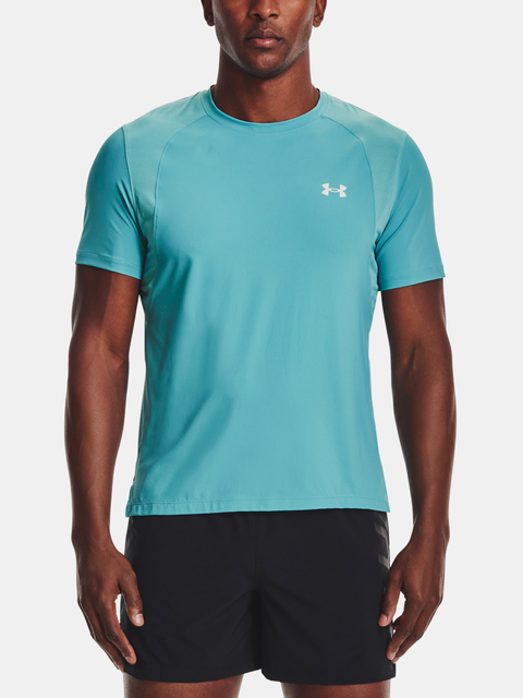 Tričko Under Armour IsoChill Run 200 SS-BLU