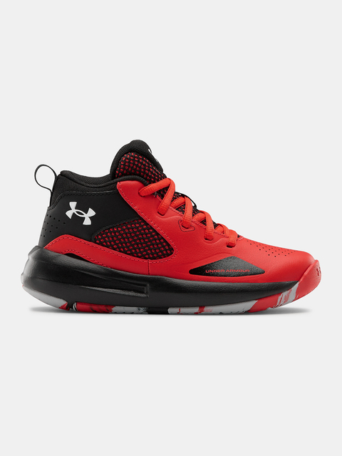 Topánky Under Armour UA PS Lockdown 5-RED