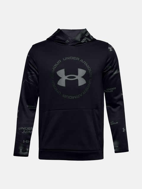 Mikina Under Armour UA ARMOUR FLEECE SI TD HOOD-BLK
