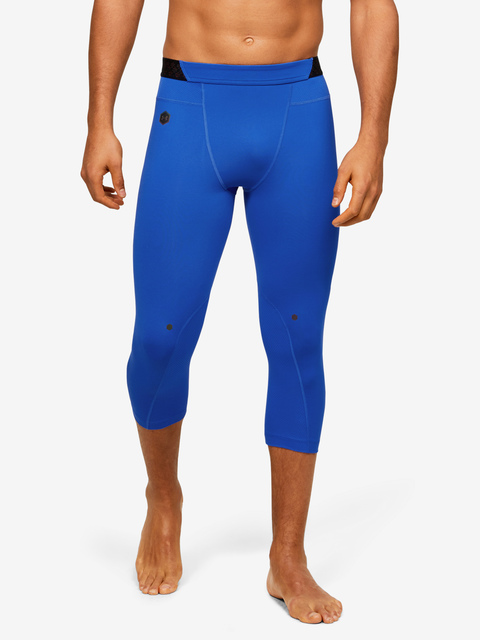 Legíny Under Armour HG Rush 3/4 Leggings-BLU