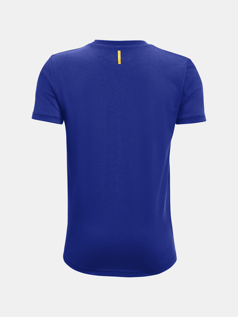 Tričko Under Armour Curry Logo Tee-BLU