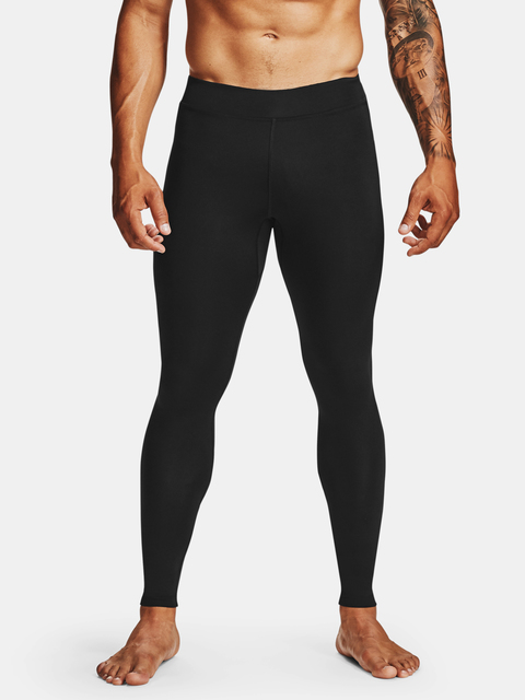 Legíny Under Armour Q. IGNIGHT ColdGear Tight-BLK