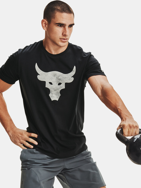 Tričko Under Armour PJT ROCK BRAHMA BULL SS-BLK