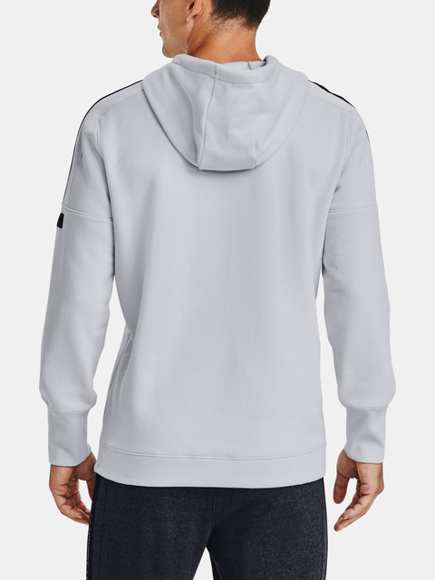 Mikina Under Armour Accelerate Off-Pitch Hoodie-GRY