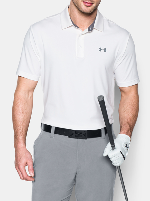 Opasok Under Armour Men's PU Leather Golf Belt-BLK