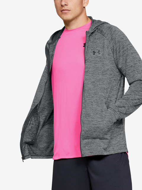 Mikina Under Armour TECH 2.0 FZ HOODIE-GRY