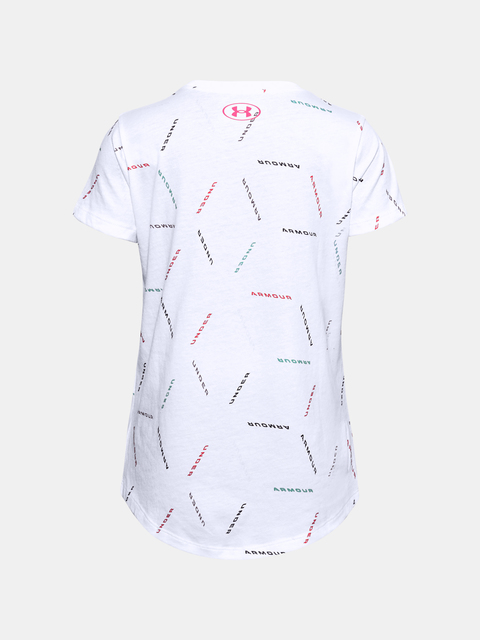 Tričko Under Armour UA Twitch Multi Print SS-WHT