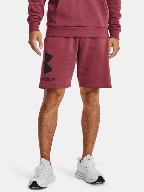 Kraťasy Under Armour Rival FLC Big Logo Shorts-RED