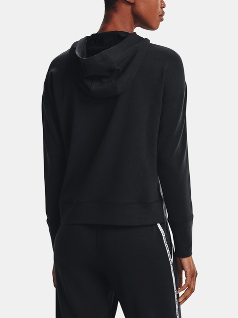 MIkina Under Armour Rival Terry Taped Hoodie-BLK