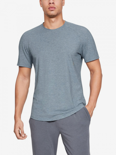 Tričko Under Armour Athlete Recovery Travel Tee-Gry