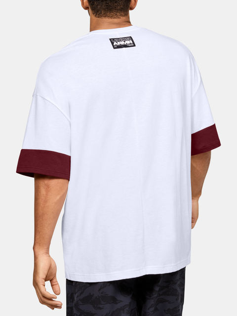 Tričko Under Armour  MOMENTS SS TEE-WHT