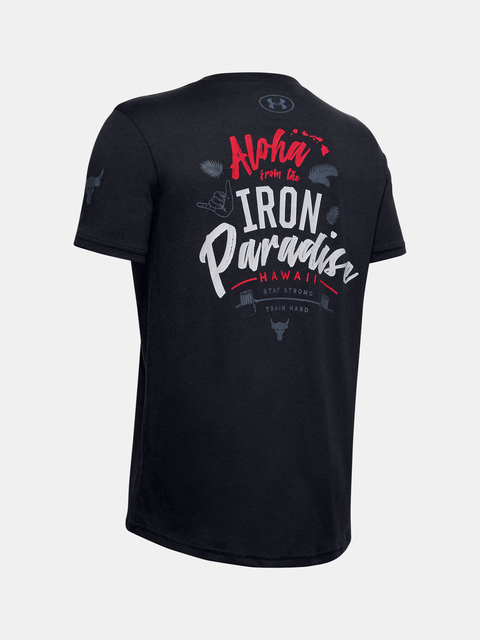 Tričko Under Armour Project Rock Iron Paradise Ss