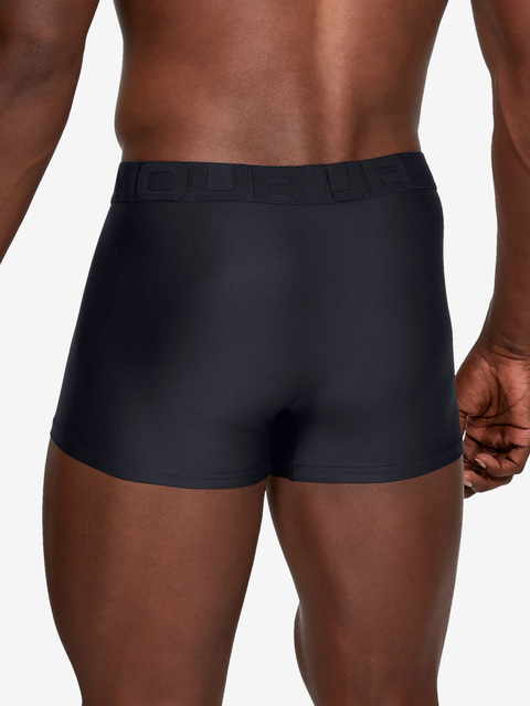 Boxerky Under Armour Tech 3in 2 Pack-BLK