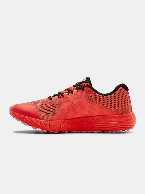 Topánky Under Armour UA Charged Bandit Trail-RED