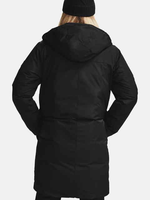 Bunda Under Armour Recover Down Parka-BLK