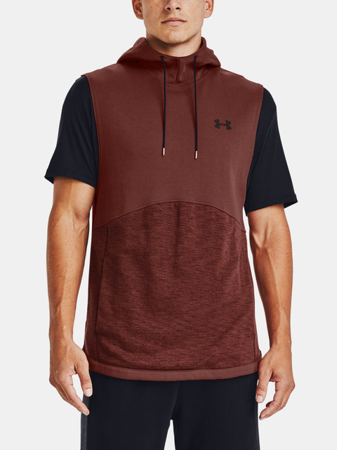 Mikina Under Armour DOUBLE KNIT SL HOODIE-RED