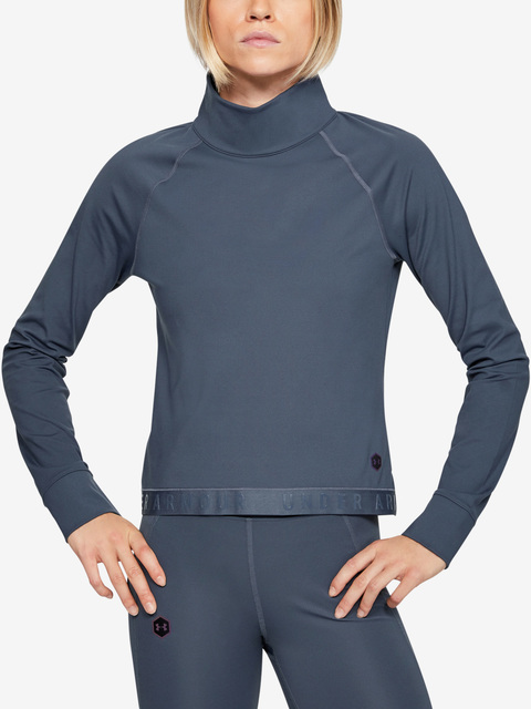 Tričko Under Armour Cg Rush Ls-Gry