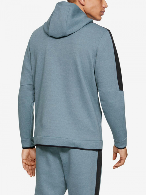 Mikina Under Armour Athlete Recovery Fleece Full Zip-Gry