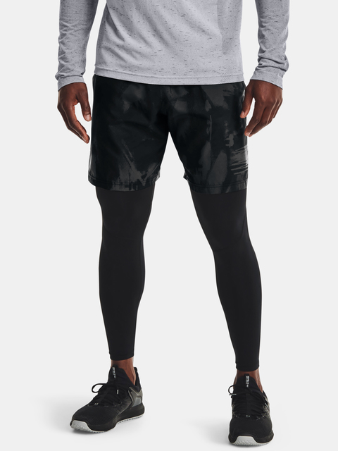 Kraťasy Under Armour Woven Adapt Shorts-BLK