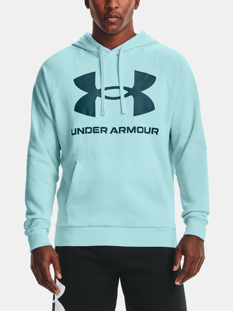 Mikina Under Armour UA Rival Fleece Big Logo HD-BLU